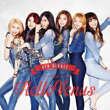 [HELLO VENUS] 4th Single Album Photo Booklet(40P)+Poster+Photo Card K-POP Sealed