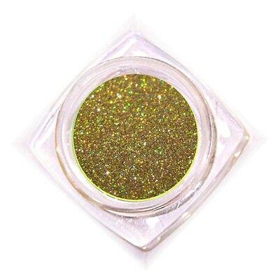 Glitterpuder Glitzer im Designtiegel 3g Gold #1322