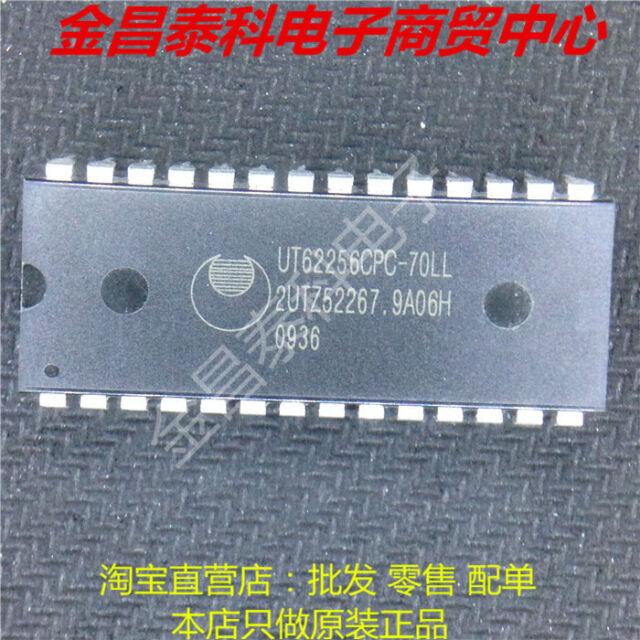 Low speed SRAM   SOP28  UMC 4 PCS UM62256EM-70LL  5v 32kx8 Double low power