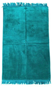 Plain Quality Prayer Rug Mat Janamaz Musala Colour