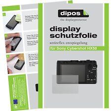 6x dipos Sony Cybershot DSC HX50 matte Displayschutzfolie Antireflex Testsieger