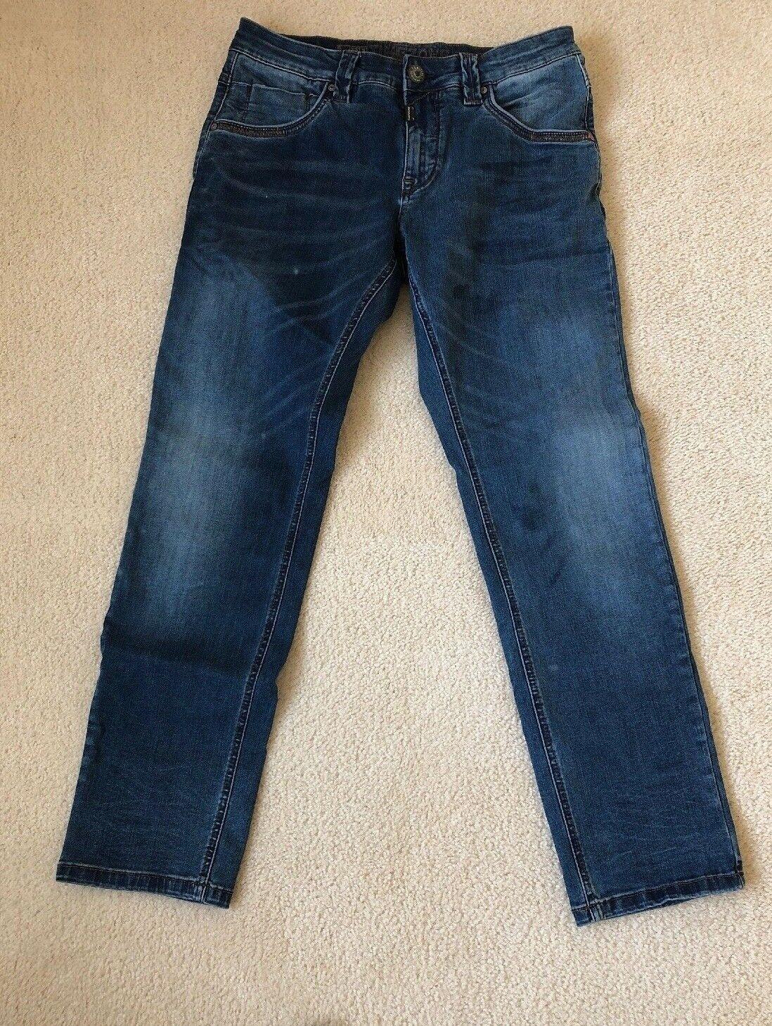 Timezone Eduardo TZ zip men's Jeans  Fit 32W 32L - Pre-Owned