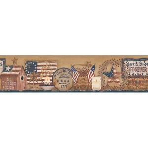 Wallpaper-Border-Stars-and-Stripes-Forever-Patriotic-Shelf