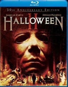 Blu-Ray-HALLOWEEN-II-2-30th-anniversary-edition-1981-Region-free-New-sealed