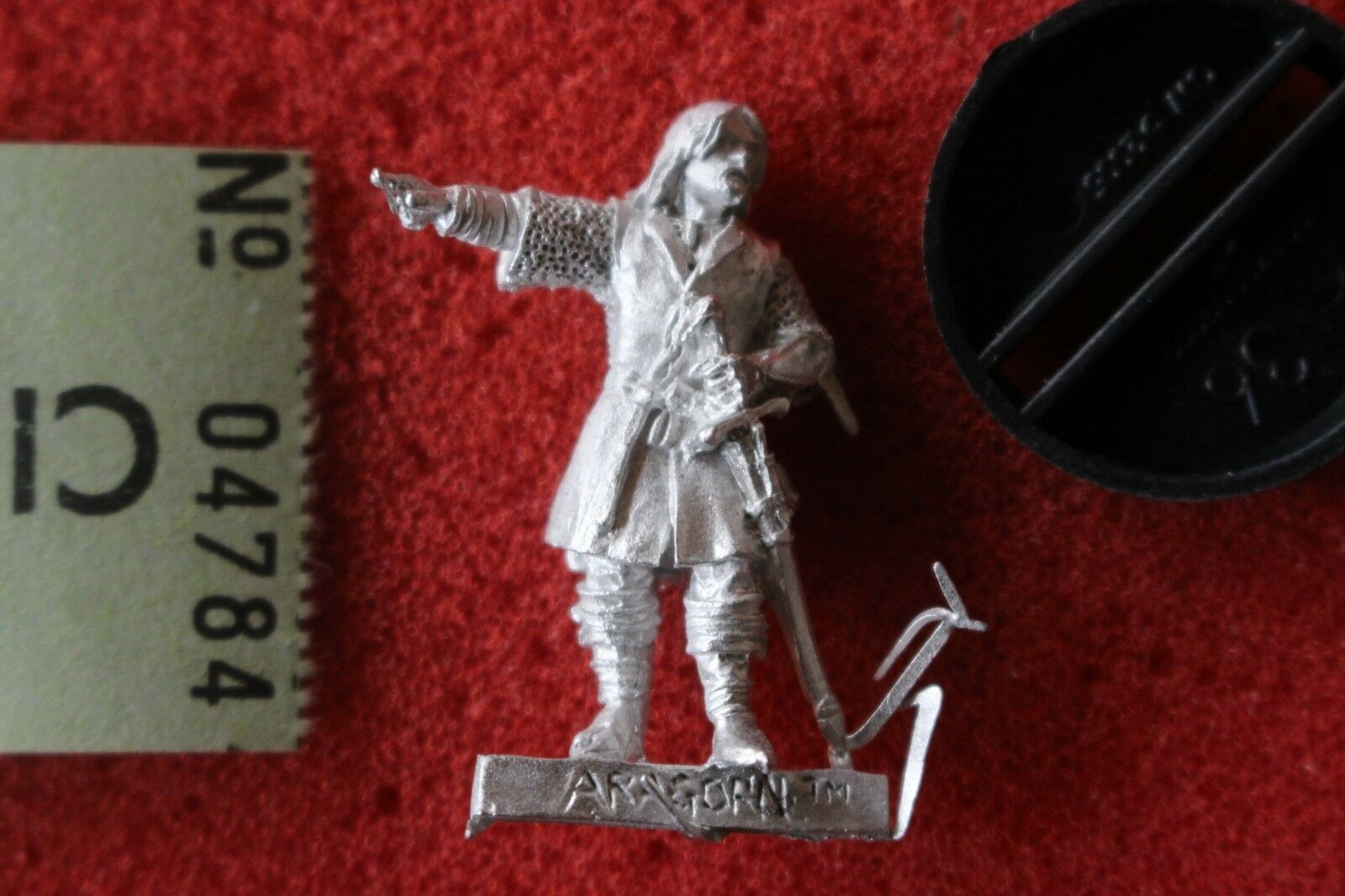 Games Workshop Lord of the Rings Defenders Rohan Aragorn LoTR Metal Figure Mint