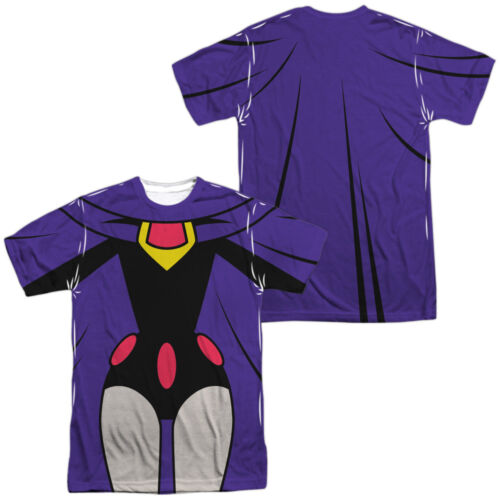RAVEN UNIFORM 2-Sided Sublimated All Over Print Poly T-Shirt Teen Titans Go