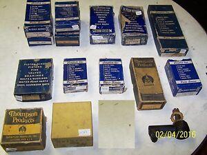 Large Box Lot of 1930s-40s-50s-60s McQuay-Norris Classic Car Suspension Parts