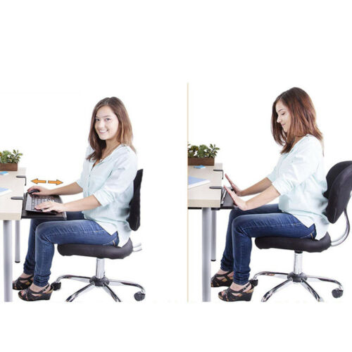 Slide Keyboard Tray Under Desk With C Clamp-Large Size Steady Keyboard Stand AK