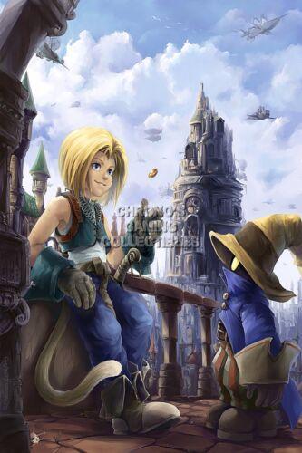 RGC Huge Poster FIX010 Final Fantasy IX Zidane and Vivi PS1 PS2 PSP