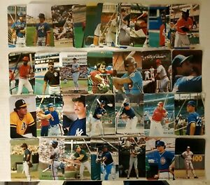 1986-Rob-Broder-Baseball-Complete-Set-1-50-50-Cards-Barry-Bonds-Jose-Canseco-RC