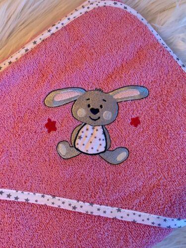 Handtuch Wörner Kapuzenhandtuch mit Applikation und Namen Badetuch