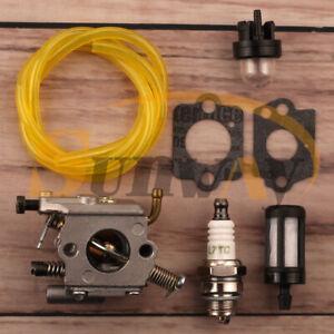 Carburateur-amp-Bougie-d-039-allumage-pour-Stihl-020T-MS200-MS200T-ZAMA-C1Q-S126B