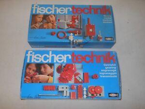Fischertechnik Méga Lot - Séries Mot. 1 Moteur 2