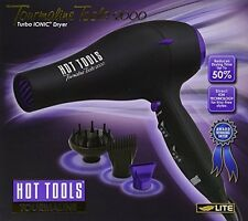 NIB Hot Tools Tourmaline Tools 2000 Professional Ionic Blow Hair Dryer 1043 NEW
