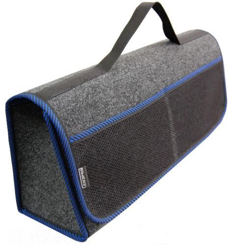 Kofferraumtasche Auto Tasche Zubehörtasche in BLAU passend für Dacia