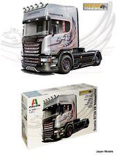 SCANIA R730 V8 Streamline Silver Griffin Italeri Show Trucks 3906 1/24 Model Kit