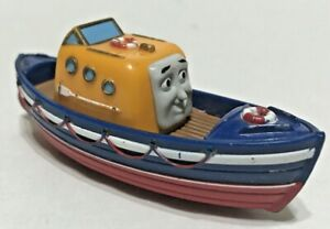 Thomas And Friends Take N Play Captain Die Cast Tug Boat 2009 Mattel