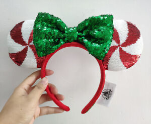 Disney-Parks-Mickey-Minnie-Mouse-Lollipop-Ears-Headband-new