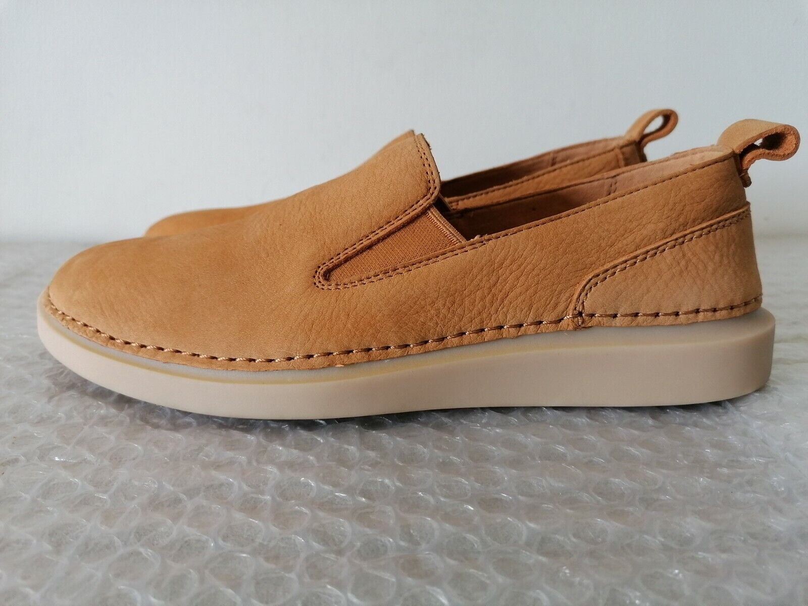 guard lecture bang  Clarks Handcrafted Bombay Lights Womens Light Tan Leather Shoes UK 8 for  sale | eBay