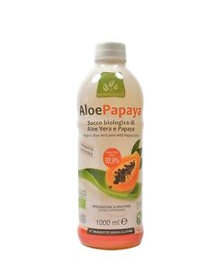 AloePapaya Bio Succo biologico di Aloe Vera e Papaya