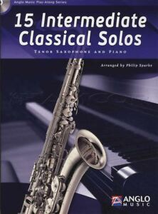 15-Intermediate-Classical-Solos-for-Tenor-Saxophone-Sax-Sheet-Music-Book-with-CD
