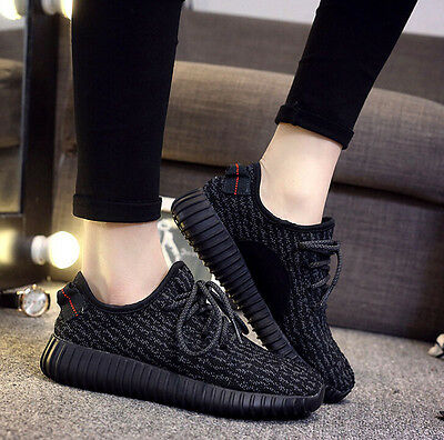 Fashion Black British Women's Breathable Casual Sports Running Shoes Sneakers