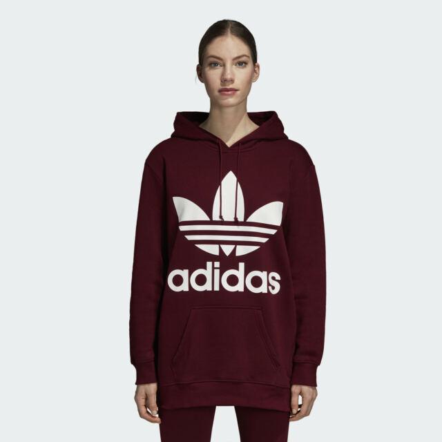 Adidas Originals Trefoil Logo Damen Hoodie Hoody Pullover Pulli Kapuzenjacke