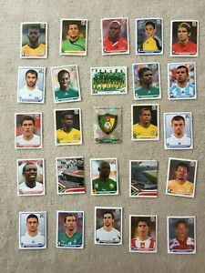 Panini-Sticker-Fussbal-WM-2010-25-Stueck-VIII