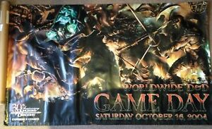 Trempé 2004 Donjons & Dragons 30th Anniversaire Dans Le Monde Entier Game Day Vinyle Bannière-afficher Le Titre D'origine