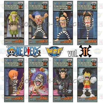 ONE PIECE WCF World Collectable Figure vol.11 Impel Down Complete set