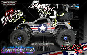 Traxxas Maxx 4s 1 10 Hop Up Graphics Wrap Fit Tra8914 Body Chassis Afterburner Ebay A wide variety of maxx traxxas options are available to you details about traxxas maxx 4s 1 10 hop up graphics wrap fit tra8914 body chassis afterburner