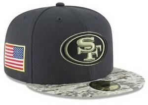 Official 2016 San Francisco 49ers New Era NFL Salute Service 59FIFTY ... c3ccd36c4