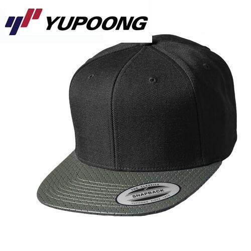 Yupoong perforated Snapback Cap UNI//Taglia Unica OLIVE