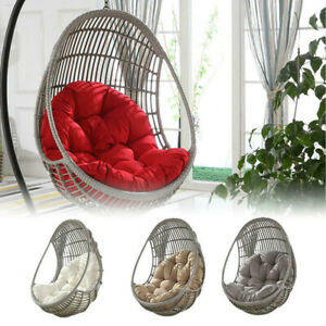 Outdoor//Indoor Cushion Hanging Swing Egg Chair Garden Furniture Patio Chair Mats