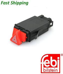 SWAG Hazard Light Tip Control Switch Fits AUDI A6 Allroad C5 4B S6 4B0941509K