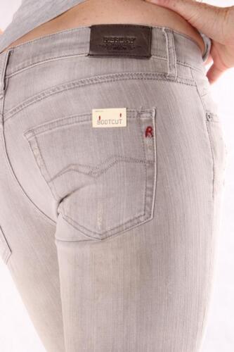 Damen Mode REPLAY W442A 263 688 011 Radell Graue Jeans