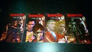 Resident-Evil-Biohazard-Code-Veronica-Trade-Paperback-Comics-Vol-1-4-Complete