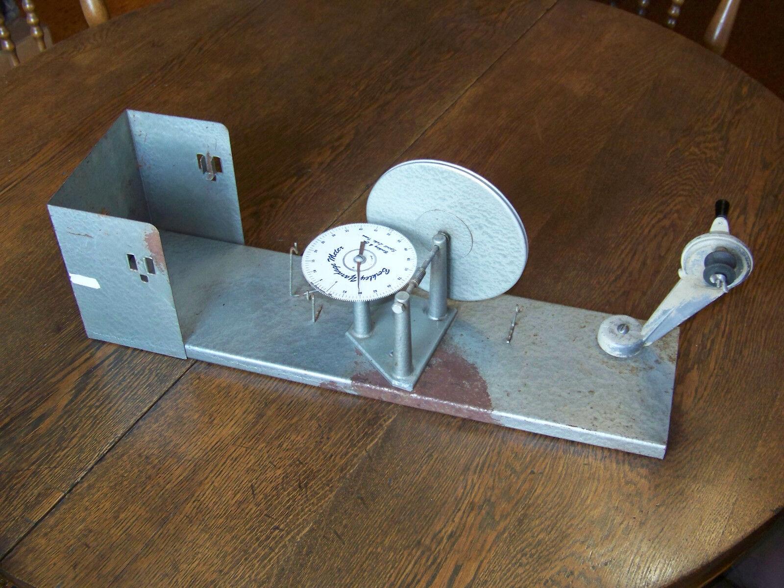 Vintage Berkley Fishing Line Yardage Counter Reel Spool Winder Spirit Lake IA