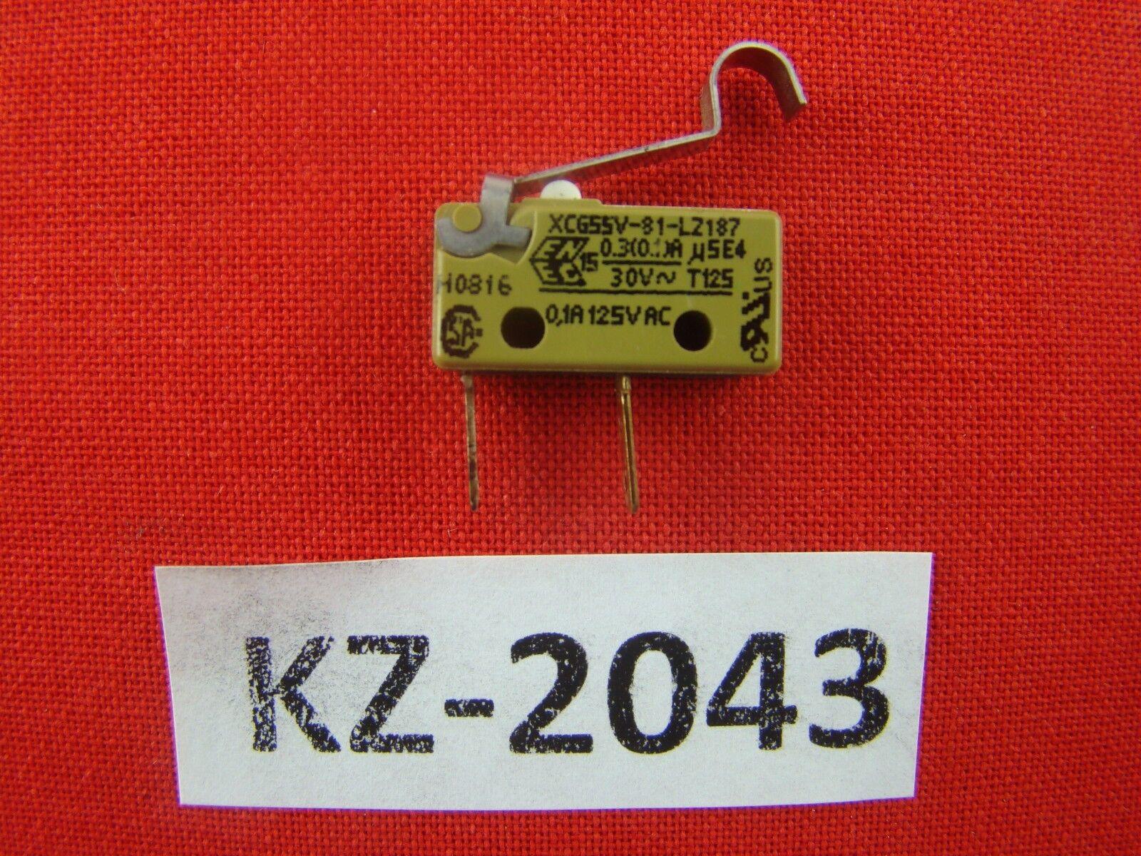 Saia xcg55v-81-lz187 Micro Switch Switch Flag MICROSIEMENS SURPRESSO  kz-2043