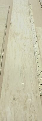 "Karelian Birch wood veneer 6"" x 44"" raw no backing 1/42"" thickness ""A"" grade"