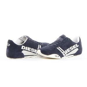 Diesel Shoes Solar Fashion Men Blue New