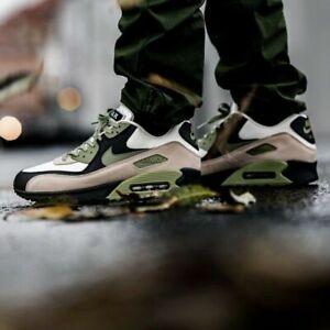 Nike-AIR-MAX-90-034-LAHAR-Escape-034-CREMA-amp-ALLIGATOR-Scarpa-maschile-Nuovo-REGNO-UNITO-tutte-le