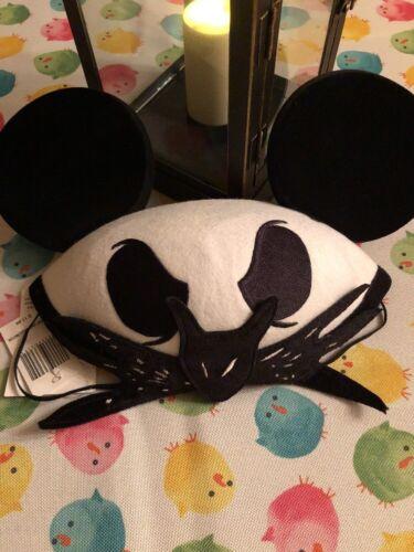 Disney Parks Jack Skellington Ear Hat Nightmare Before Christmas new