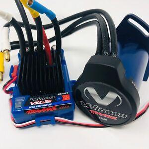 Traxxas-Rustler-4x4-VXL-Velineon-Waterproof-Brushless-Motor-VXL-3S-ESC-System