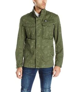 96462726c6e G Star Raw Men's Rovic Premium Twill Infrared Camo Overshirt Jacket ...
