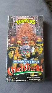Teenage Mutant Ninja Turtles - We Wish You a Turtle Christmas (VHS ...