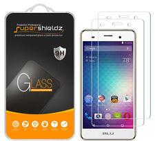 2x Supershieldz Tempered Glass Screen Protector Saver For BLU Advance 5.0 HD