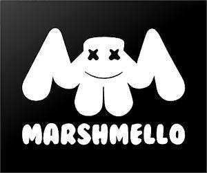 Image Is Loading Marshmello EDM House Music DJ Logo Vinyl Decal
