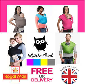 Extra light and silky soft MANY COLOURS!!! BABY CARRIER SLING STRETCHY WRAP