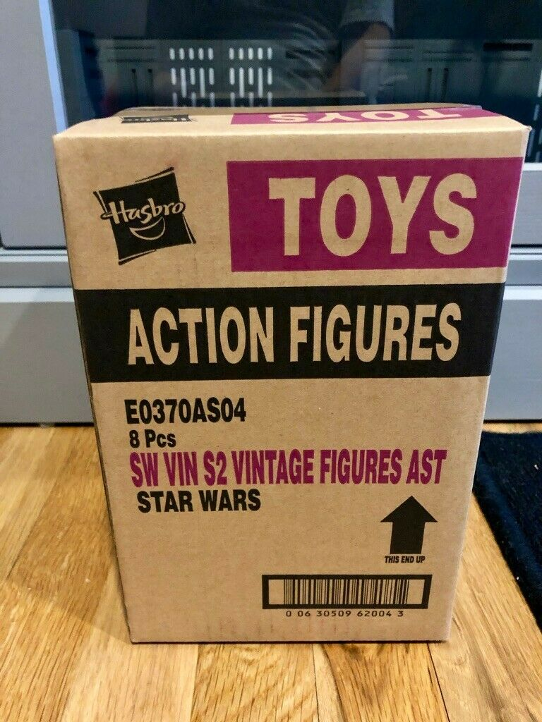 Estrella Wars The Vintage Collection Wave 4 caso de 8 (E0370AS04) Sellado & MINT   1